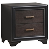 Madison 3 Pieces Walnut Bedroom Set - EEI-MOD-53-WAL-SET-3PC