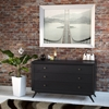 Tracy 3-Drawer Wood Dresser - Black - EEI-MOD-5241-BLK