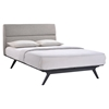 Addison Platform Bed - Black, Gray - EEI-MOD-5-BLK-GRY