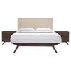 Tracy 3 Pieces Queen Bedroom Set - EEI-5261-CAP-SET