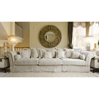 Bella Fabric Sectional Sofa - Sand