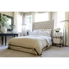 Chelsea Tall Panel Bed - Seashell - ELE-CHE-SEAS-7-BED