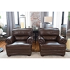 Charleston 2 Pieces Top Grain Leather Standard Chairs - Toast - ELE-CHR-2PC-SC-SC-TOAS-1