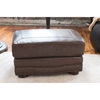 Charleston Top Grain Leather Standard Ottoman - Toast - ELE-CHR-SO-TOAS-NH40