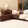 Corsario Leather Sectional Sofa with Left Facing Chaise - ELE-COR-SEC-RAFS-LAFC-BOUR-1