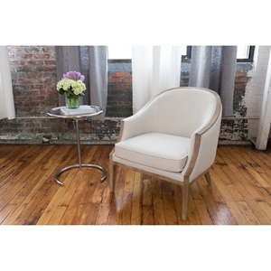 Crescent Natural Standard Chair - Wood Trim