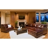 Davis Saddle Brown Leather Sectional with Right Facing Chaise - ELE-DAV-SEC-LAFL-RAFC-SADD-1