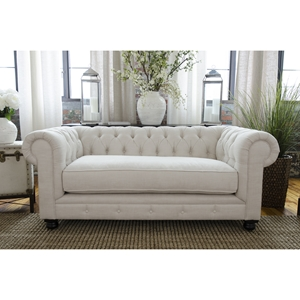 Estate Fabric Loveseat - Seashell