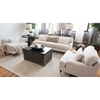 Saint Tropez 3 Pieces Fabric Sofa Set - Seashell - ELE-SAI-3PC-S-SC-SC-SEAS-7