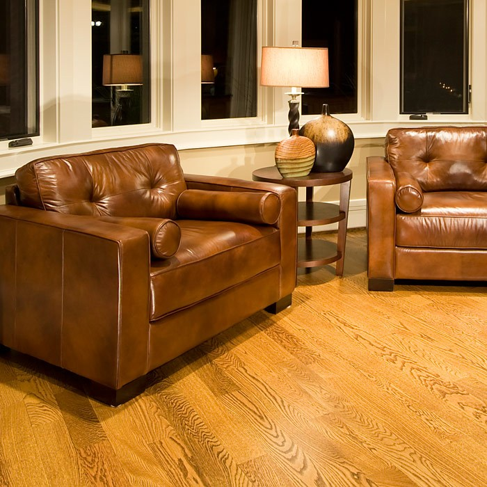 Soho Rustic Brown Leather Club Chairs Set - ELE-SOH-2PC-SC-SC-RUST-1