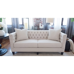 South Beach Sofa - Seashell
