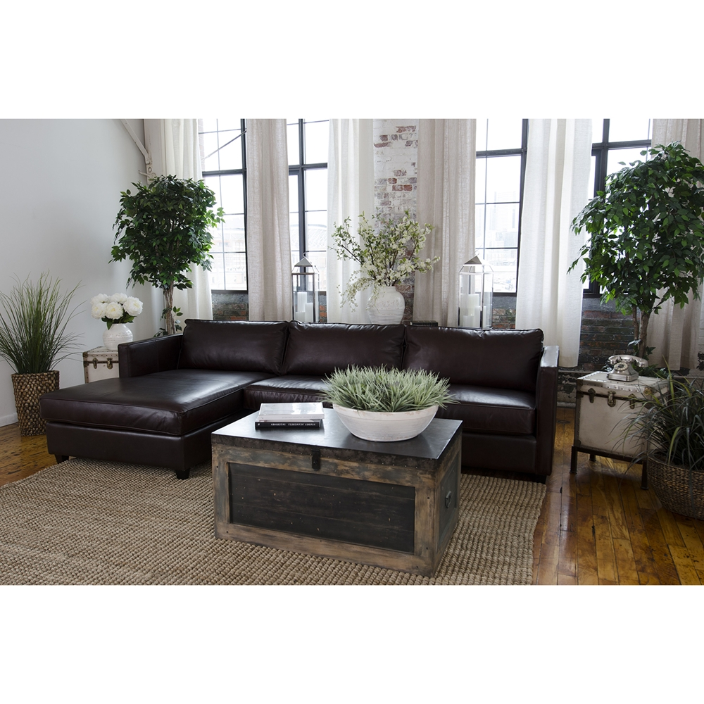 Urban 4 piece sectional set left arm facing chaise for Chaise urban but