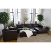 Urban 3-Piece Sectional Set - Right Arm Facing Chaise, Rectangle Ottoman - ELE-URB-3PC-LAFL-RAFC-SC-RCO-CAPP-1