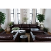 Urban 3-Piece Right Arm Chaise Sectional and 2 Standard Chairs - Cappuccino - ELE-URB-3PC-LAFL-RAFC-SC-SC-CAPP-1