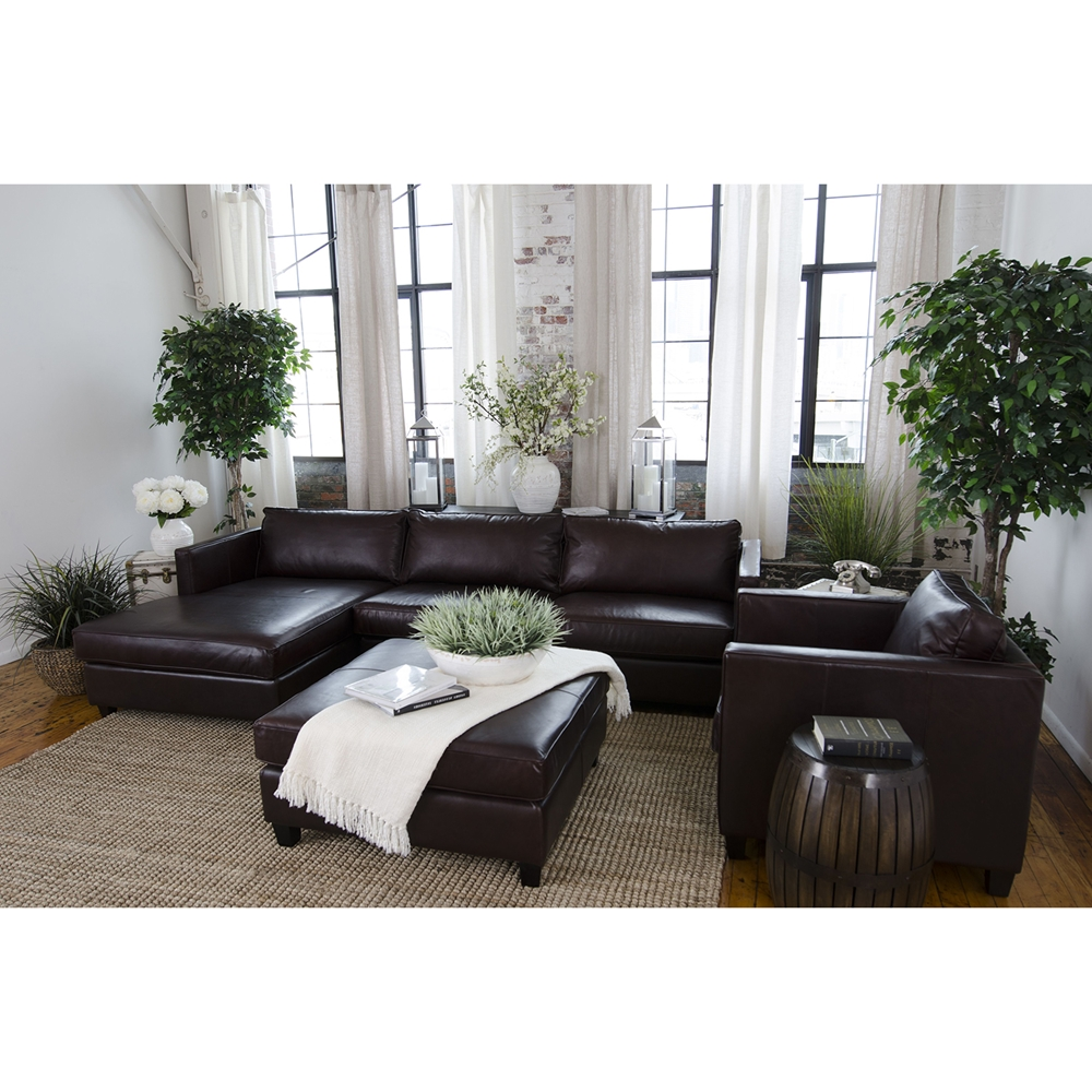 Urban 3 Piece Sectional Set Left Arm Facing Chaise