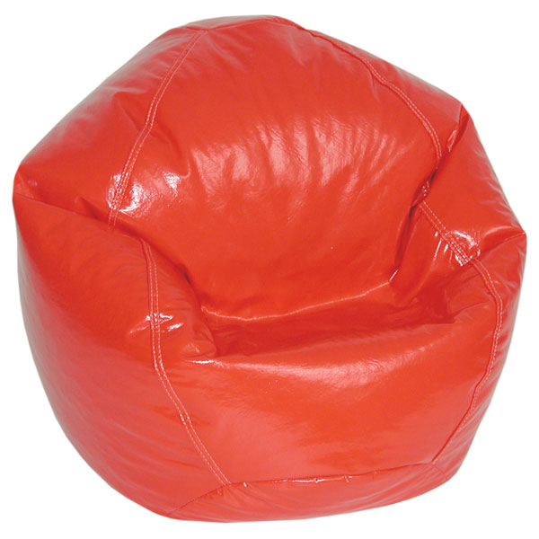 Lipstick Red Bean Bag Chair For Kids Dcg Stores