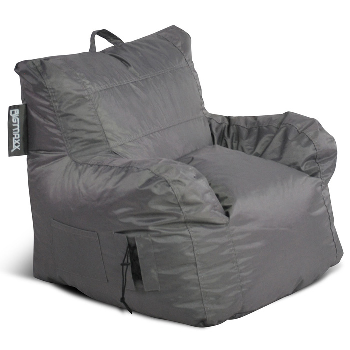 Big Maxx Mega Bean Bag Armchair - Gray - EL-30-9601-051