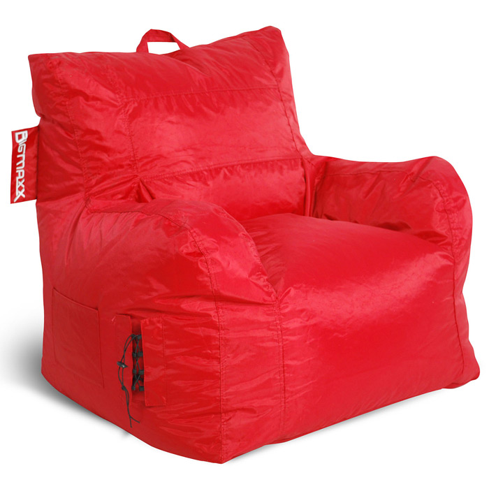 Big Maxx Mega Bean Bag Armchair - Red - EL-30-9601-054