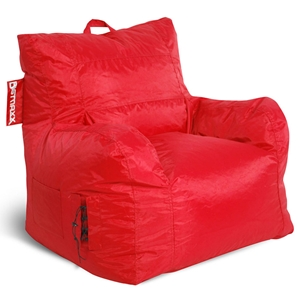 Big Maxx Kids Bean Bag Armchair - Red