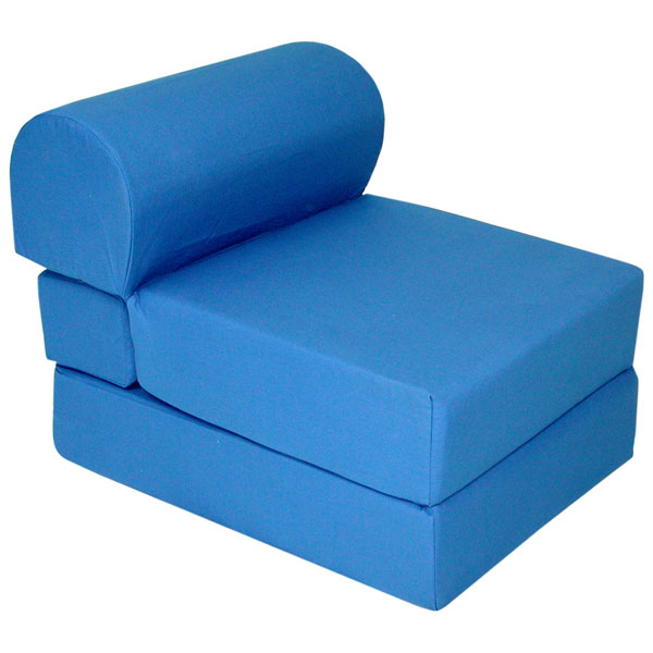 Children S Foam Chair Bed Royal Blue El 32 4300