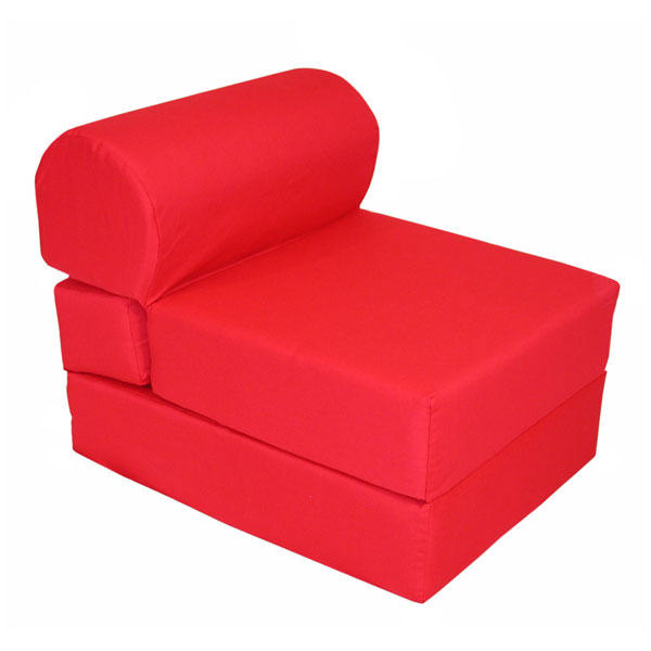 Children S Folding Foam Chair Red Dcg Stores