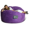 Mod Pod 50 Inch Suede Bean Bag - Purple - EL-32-6503-1009