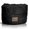 Mod Pod Black Faux Suede 52 inch Bean Bag - EL-32-6503-467
