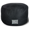 Mod Pod 40 Inch Suede Bean Bag - Black - EL-32-7024-467