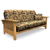 Full Size Futon Cover With 2 Free Pillows Bamboo Islander El 33