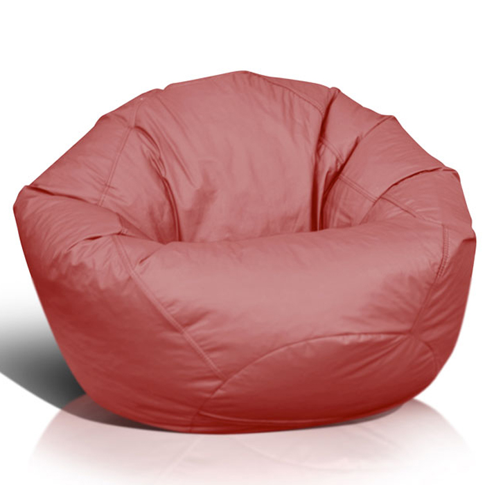 Classic Extra Large Bean Bag In Burgundy Dcg Stores