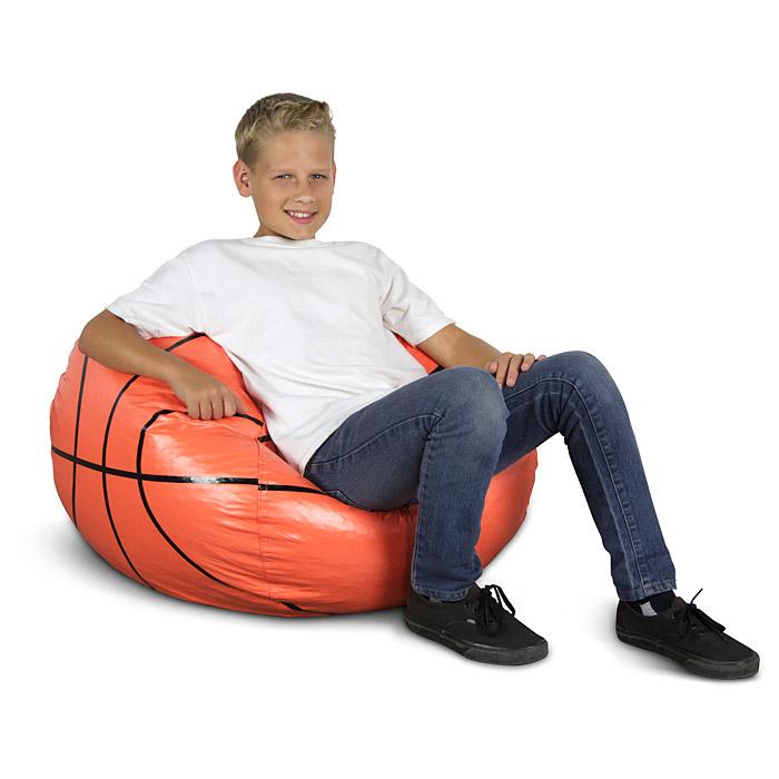 Basketball Bean Bag Chair for Kids - EL-30-3001-853