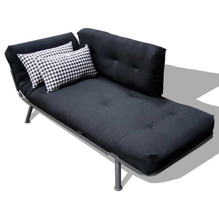 mali flex futon  bo   solid black houndstooth print side pillows   el 55     mali flex futon  bo   solid black houndstooth print side      rh   dcgstores