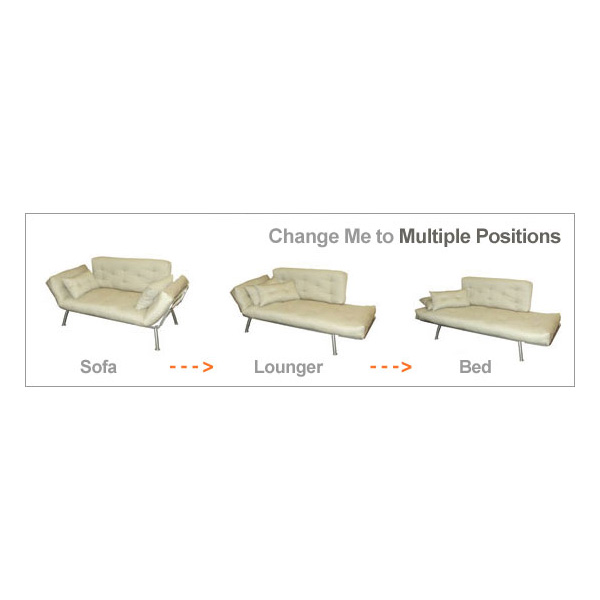 Mali Flex Futon Set Coal U0026 Pewter El 55