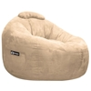 Omega Fawn Faux Suede Lounger Bean Bag - EL-32-7501-1001