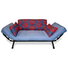 Mali Flex Futon Set Combo Blue