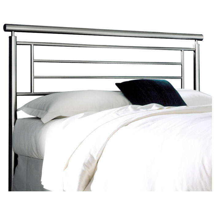 Chatham Modern Metal Headboard In Brushed Satin Dcg Stores