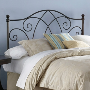 Deland Metal Headboard in Brown Sparkle