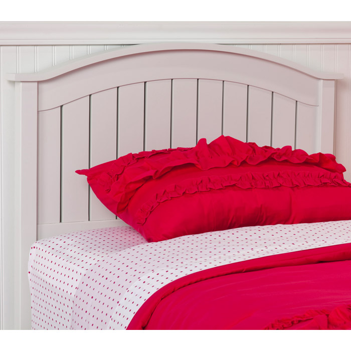 Finley Cottage Style Headboard In White Dcg Stores