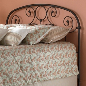 Grafton Metal Headboard in Rusty Gold