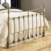 Leighton Metal Bed in Antique Brass Finish - FBG-B3128