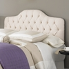 Martinique Tufted Headboard in Ivory - FBG-B7212