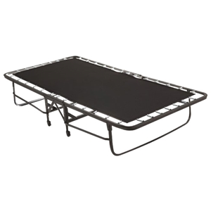 "Folding Poly Deck Rollaway Bed with 4"" Foam Mattress"