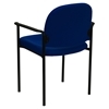 Stackable Armchair - Navy - FLSH-BT-516-1-NVY-GG