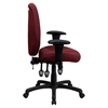 Executive Office Chair - Multi Functional, High Back, Burgundy - FLSH-BT-6191H-BY-GG