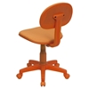 Fabric Swivel Task Chair - Orange - FLSH-BT-698-ORANGE-GG