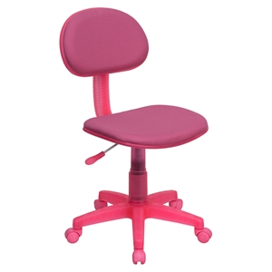 Fabric Swivel Task Chair - Pink