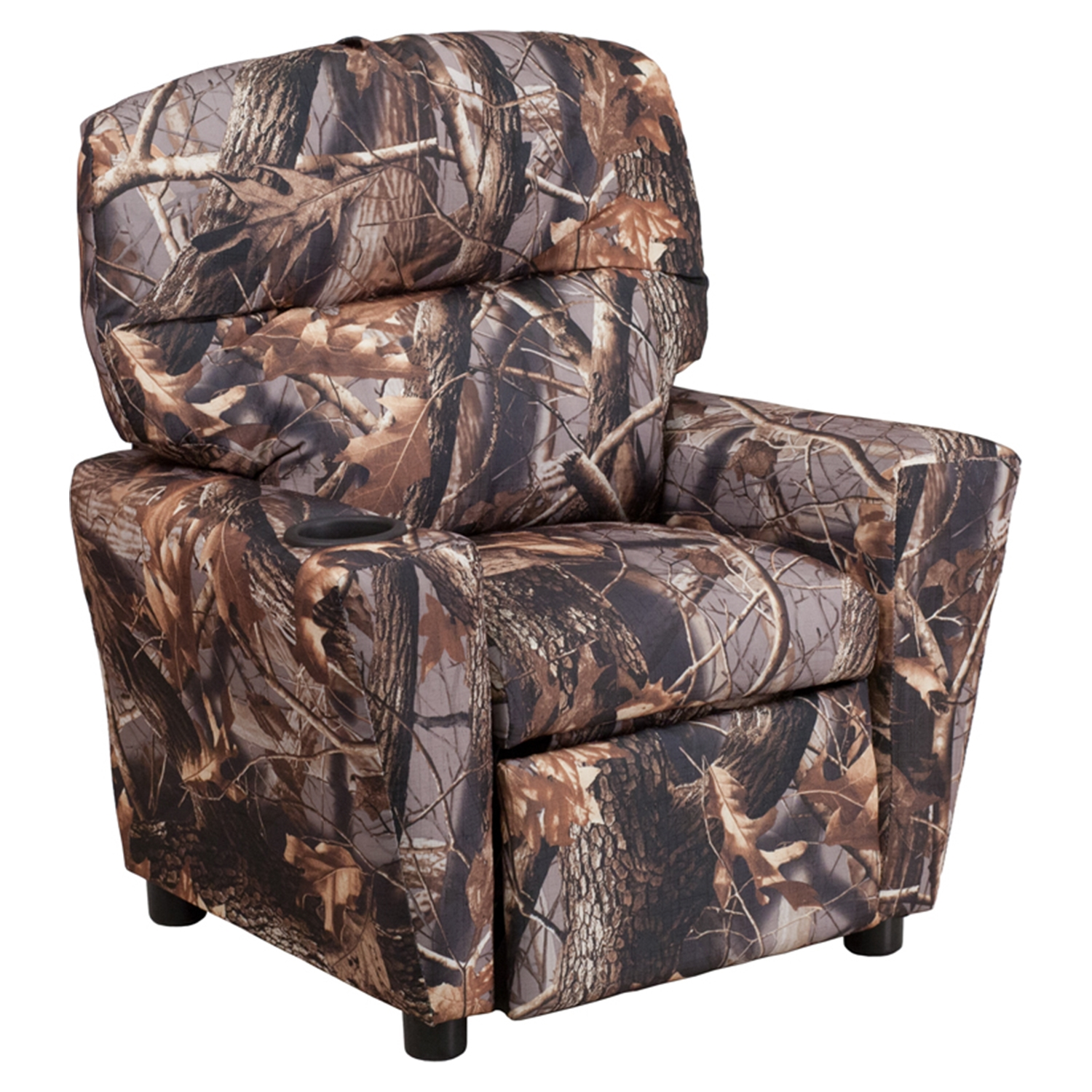 Fabric Kids Recliner Chair   Cup Holder, Camouflaged   FLSH BT 7950  ...