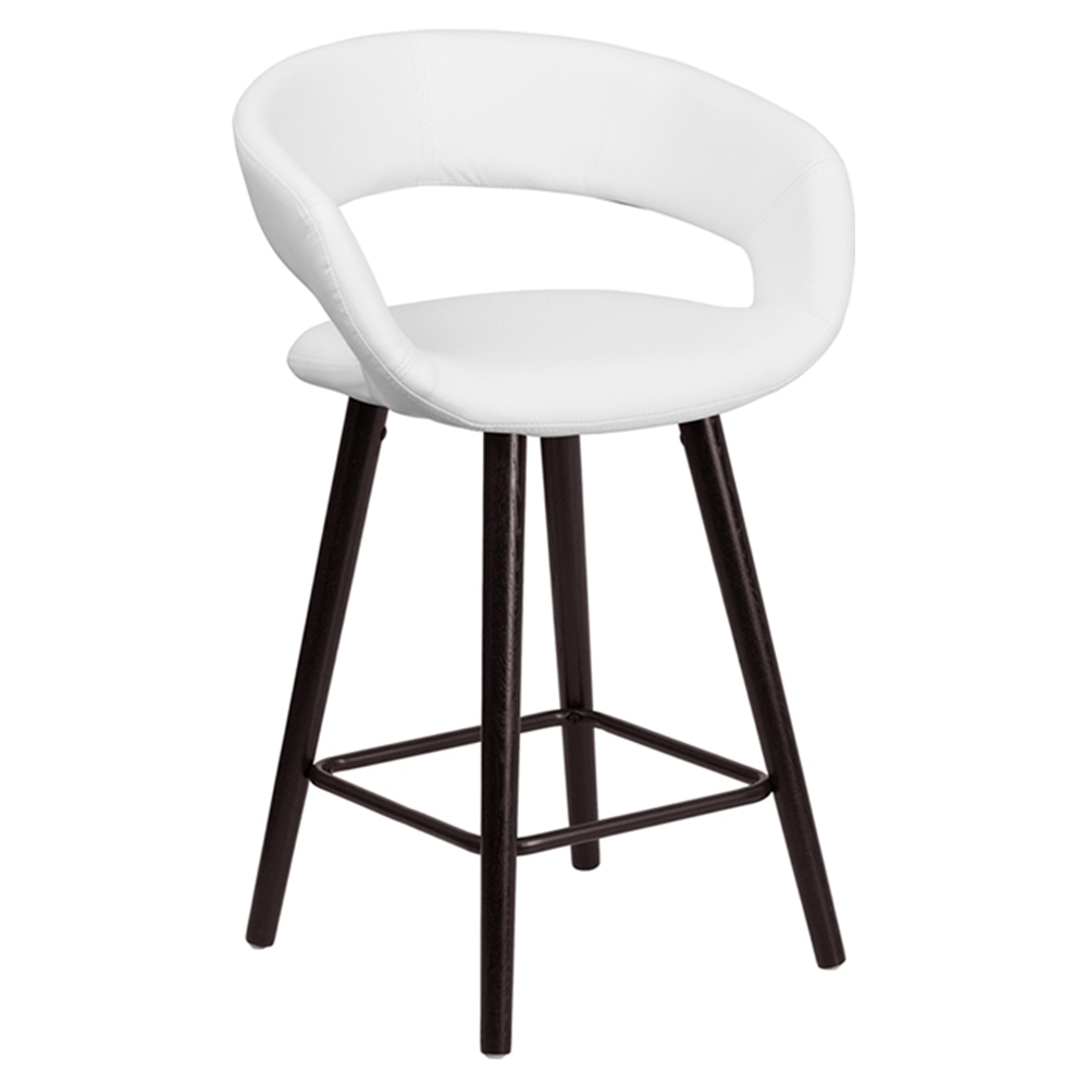 Brynn Series Counter Stool White Dcg Stores