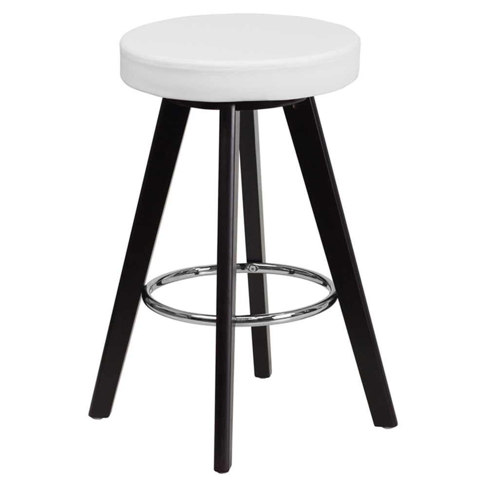 Trenton Series 24 Quot Counter Height Stool White Dcg Stores
