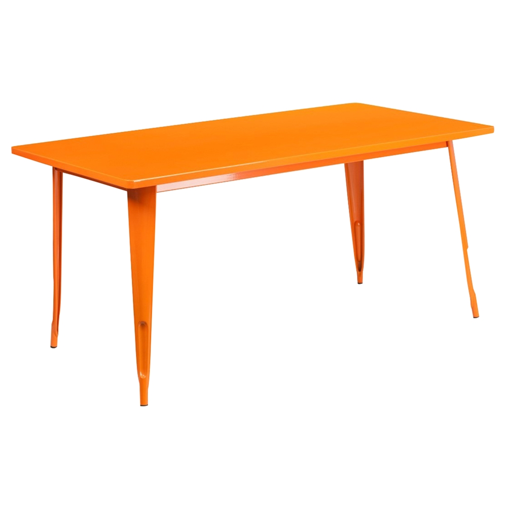 7 Pieces Rectangular Metal Table Set Stack Chairs  : et ct005 4 30 or gg 1 from www.dcgstores.com size 1000 x 1000 jpeg 106kB